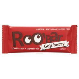 ROOBAR Goji Berry Organic батончик, 30 г
