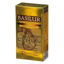 Basilur Gold черный чай в пакетиках, 25 шт