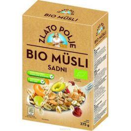 Zito Natura Bio Мюсли с фруктами, медом и фундуком органические, 375 г
