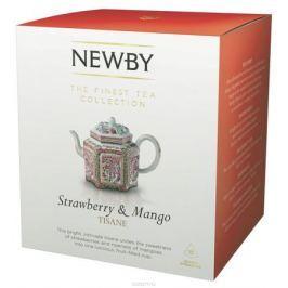 Newby Strawberry & Mango (infusion) фруктовый напиток в пирамидках, 15 шт