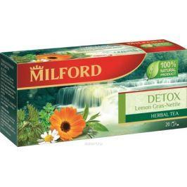 Milford Детокс травяной чай в пакетиках, 20 шт