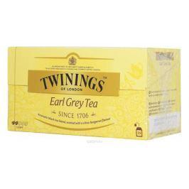 Twinings Earl Grey Tea черный ароматизированный чай в пакетиках, 25 шт