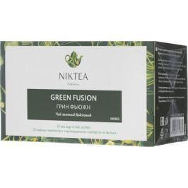 Niktea Green Fusion чай зеленый в пакетиках, 25 шт