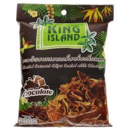 King Island кокосовые чипсы с шоколадом, 40 г