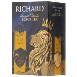 Richard Royal Ceylon черный листовой чай, 90 г