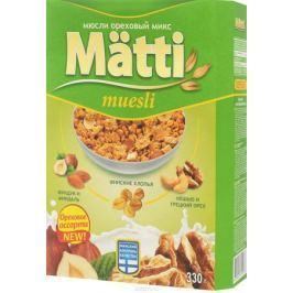 Matti мюсли ореховый микс, 330 г