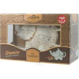 London Tea Club Тирамису чай черный в заварнике, 60 г