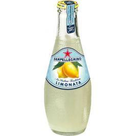San Pellegrino Напиток сокосодержащий со вкусом лимона, 0,2 л