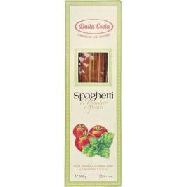 Dalla Costa спагетти со шпинатом и томатами, 500 г