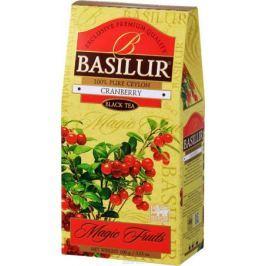 Basilur Cranberry черный чай с канадской клюквой, 100 г