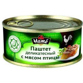 Hame Паштет деликатесный с мясом птицы халяль, 250 г