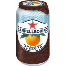 San Pellegrino Напиток сокосодержащий со вкусом померанца, 0,33 л