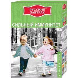 Русский завтрак хлопья и злаки сильный иммунитет в пакетиках для варки, 6 шт по 40 г