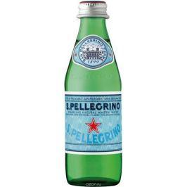 San Pellegrino вода минеральная газированная гидрокарбонатно-сульфатная магниево-кальцевая, 0,25 л