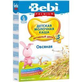 Bebi Премиум каша овсяная молочная, с 5 месяцев, 250 г