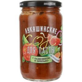 Лукашинские соус для пасты с базиликом и орегано, 365 г