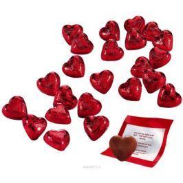 Caffarel Любовное послание конфеты из молочного шоколада в форме сердца, 1 кг
