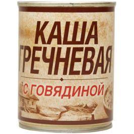 Вотчина Каша гречневая с говядиной, 338 г
