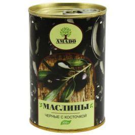 Amado черные маслины с косточкой, 300 г