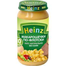Heinz пюре макарошечки по-флотски, с 10 месяцев, 190 г