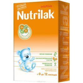 Nutrilak до 12 месяцев смесь молочная с 0 месяцев, 350 г