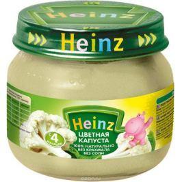 Heinz пюре цветная капуста, с 4 месяцев, 80 г