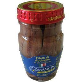 Mancin анчоусы филе в подсолнечном масле, 78 г