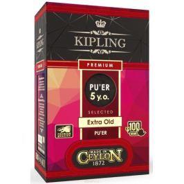 Kipling Premium PU-ER 5 years черный листовой чай, 100 г