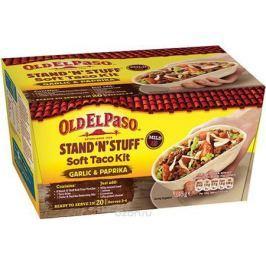Old El Paso набор для приготовления тако оригинальный с мягкими пшеничными тортилья-лодочками, 348 г