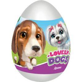 Конфитрейд Lovely dogs фруктовое драже с игрушкой, 20 г