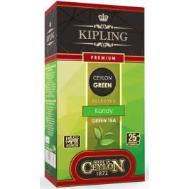 Kipling Premium зеленый чай в пакетиках, 25 шт