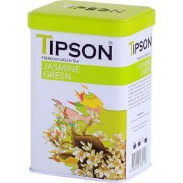Tipson Jasmine Green зеленый листовой чай c ароматом жасмина, 85 г