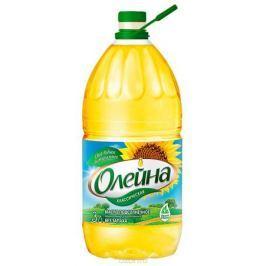 Олейна масло подсолнечное рафинированное дезодорированное, 3 л