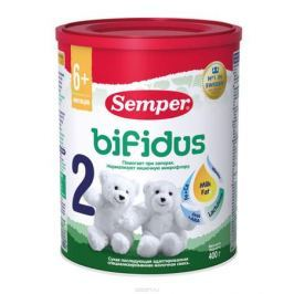 Semper Bifidus 2 смесь молочная с 6 месяцев, 400 г