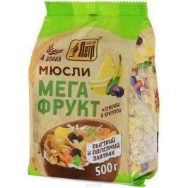 Золотой Петр мюсли со вкусом мегафрукт, 500 г