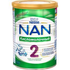 NAN 2 смесь кисломолочная, с 6 месяцев, 400 г