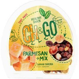 Cheese&Go Пармезан, Изюм, Фундук, сырная тарелка, 100 г
