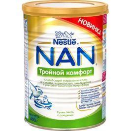 NAN комфорт смесь молочная, с рождения, 400 г