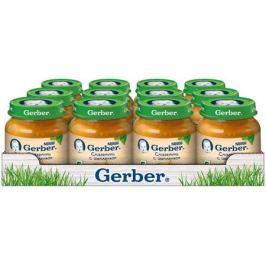 Gerber пюре Спагетти Цыпленок с 6 месяцев, 12 шт по 125 г