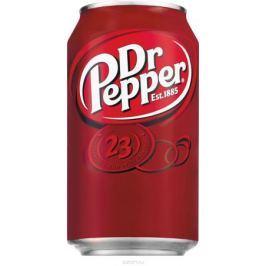 Dr Pepper Original напиток сильногазированный, 330 мл