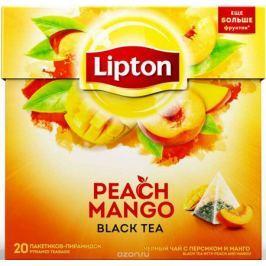 Lipton Черный чай Peach Mango 20 шт