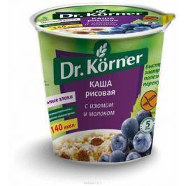 Dr. Korner Каша рисовая с изюмом и молоком, 50 г