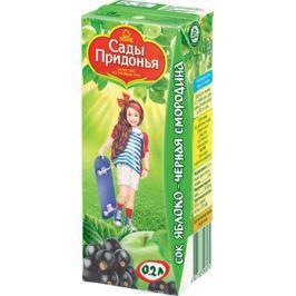 Сады Придонья сок яблоко-черная смородина с 5 месяцев, 0,2 л