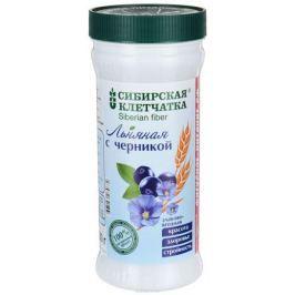 Сибирская клетчатка льняная с черникой, 280 г