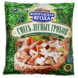 Кружево Вкуса Смесь лесных грибов резаных быстрозамороженных, 300 г