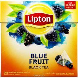 Lipton Blue Fruit Tea черный чай в пирамидках, 20 шт