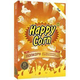 Happy Corn Попкорн для приготовления в СВЧ со вкусом сыра, 100 г