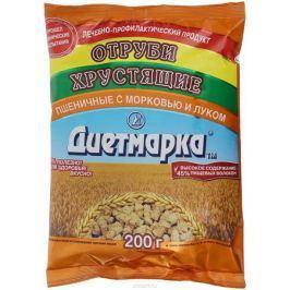 Диет Марка отруби хрустящие пшеничные лук и морковь, 200 г