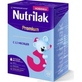 Nutrilak Premium 3 напиток молочный сухой с 12 месяцев, 600 г