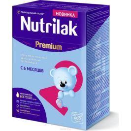 Nutrilak Premium 2 смесь молочная сухая адаптированная с 6 месяцев, 600 г